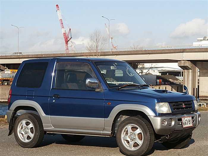 1999 Mitsubishi Pajero Mini 81