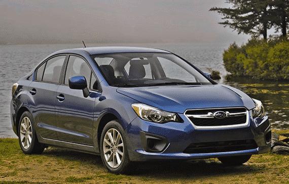 Fourth-generation Subaru Impreza