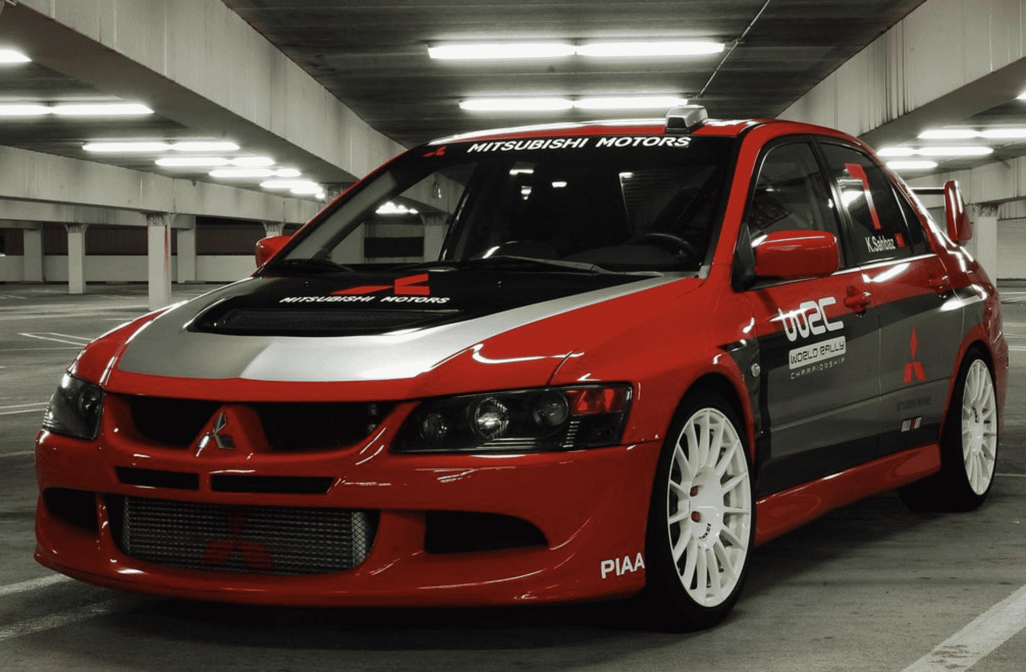 Mitsubishi Evo VII (2001-2003)