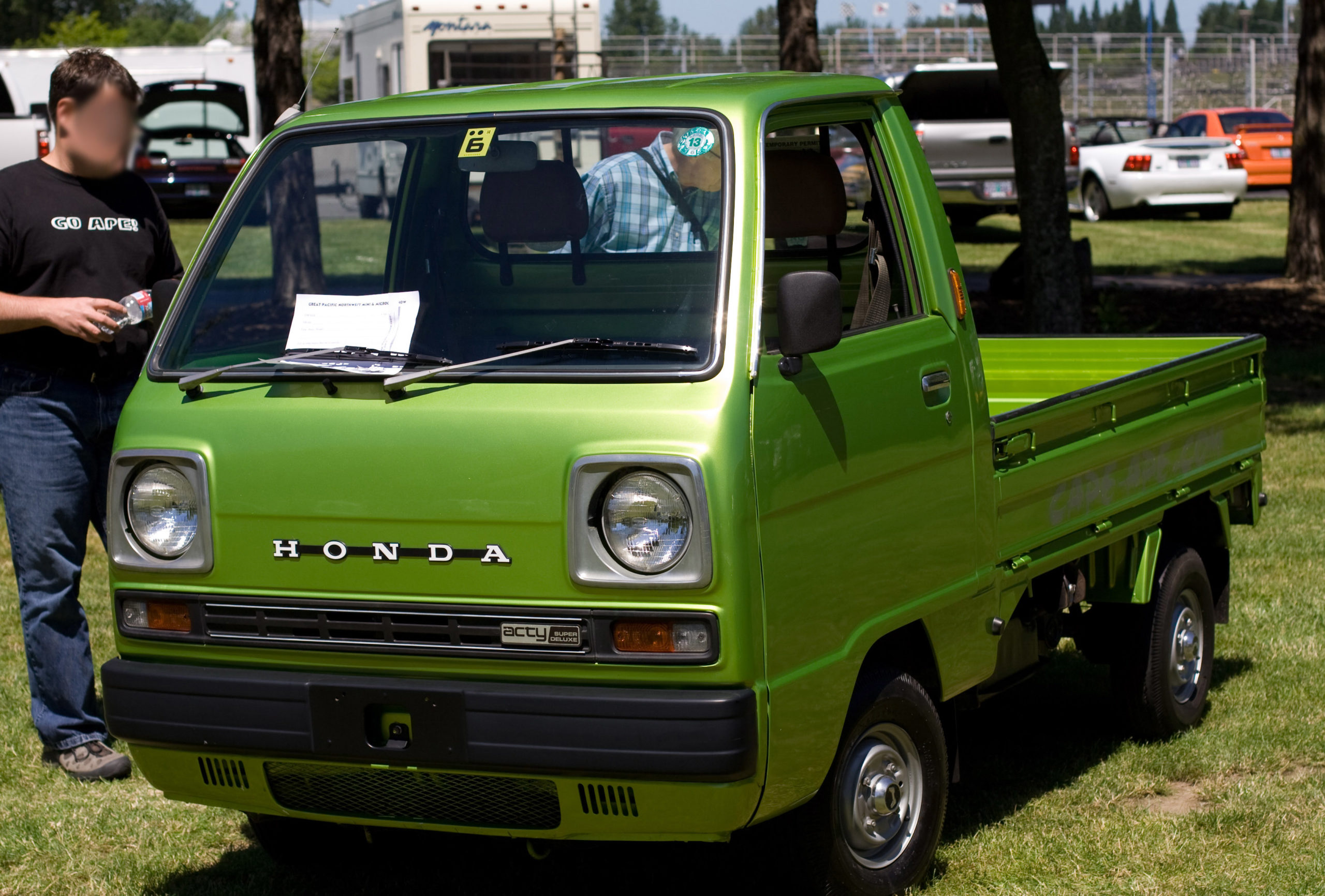 Honda Acty First Generation