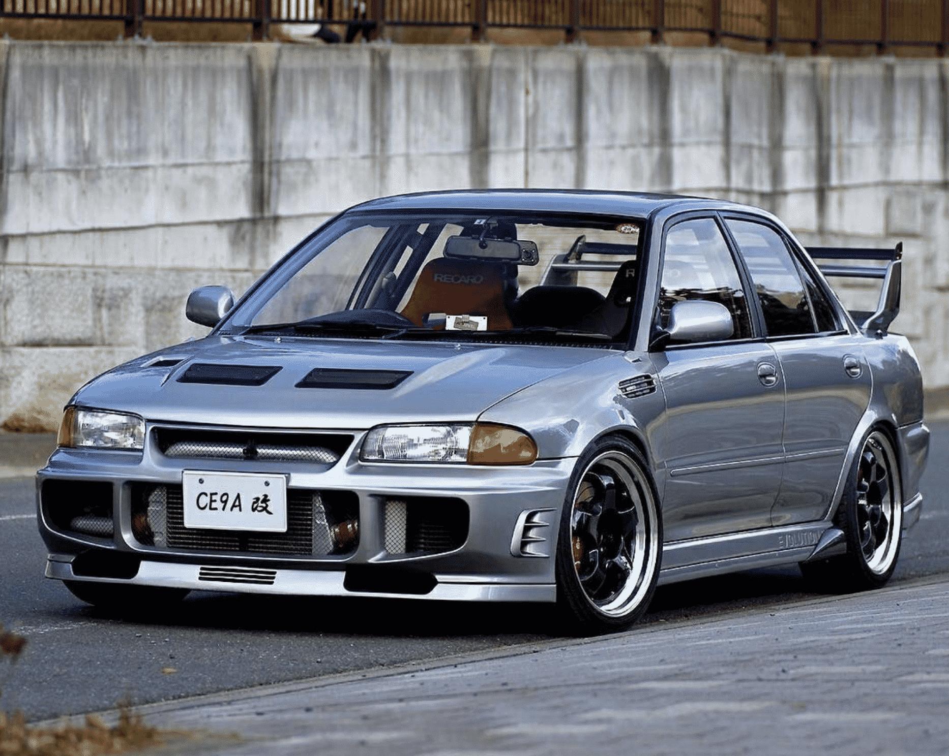 Mitsubishi Evo III (1995-1996)
