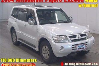 2004 Mitsubishi Pajero Exceed 4WD with Sunroof 110