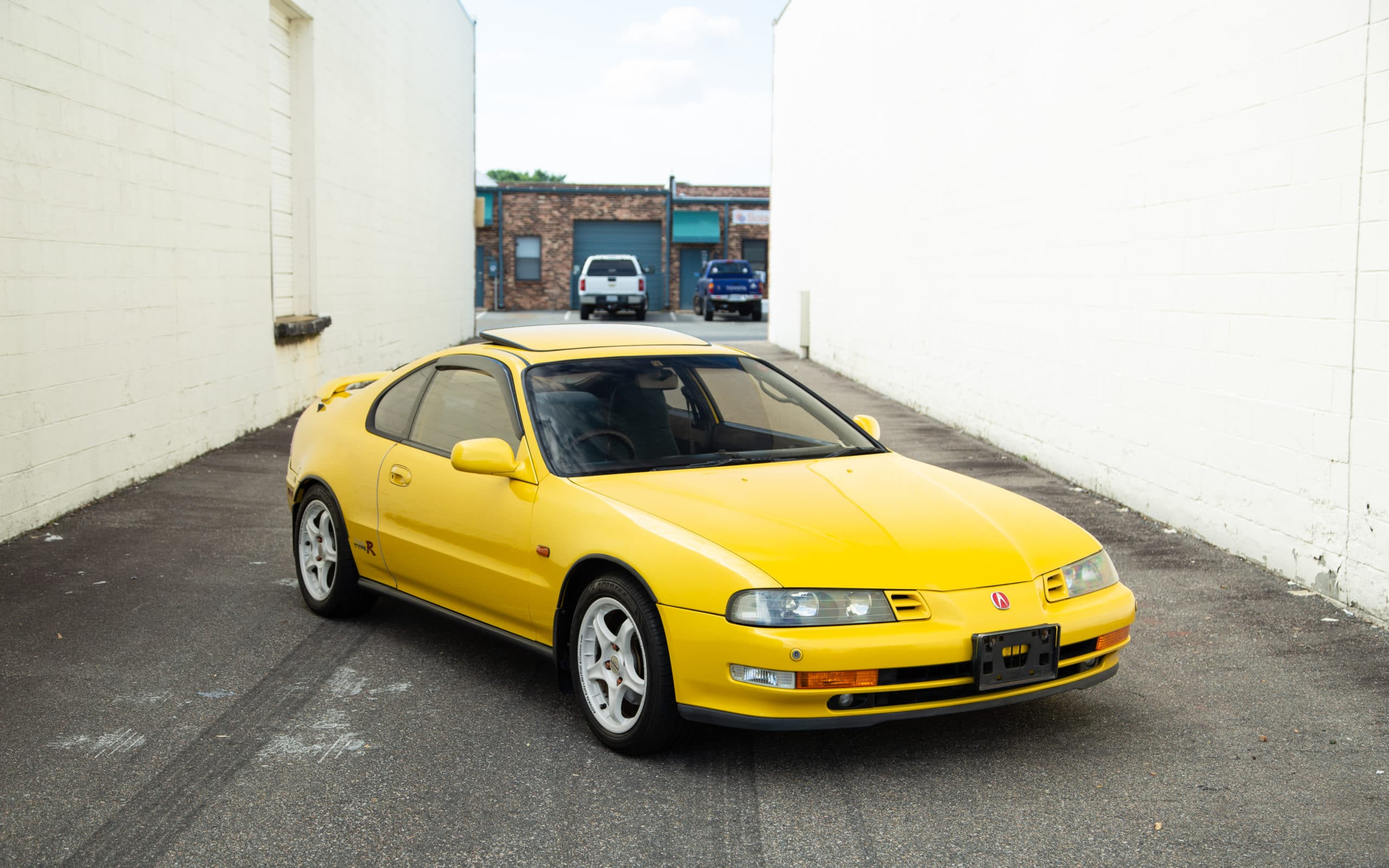 1992 Honda Prelude SiR VTEC Phoenix Yellow JDM Right Hand Drive H22A