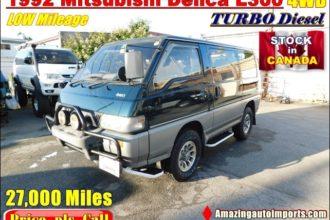 1994 Mitsubishi Delica L400 Turbo Diesel 4WD LOW Mileage 61