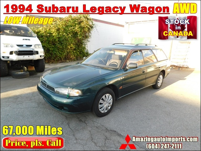 1994 Subaru Legacy Wagon AWD LOW Mileage 67