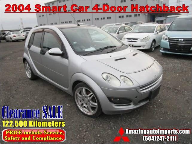 2004 Smart Car Gas Engine 4-Door Hatchback 122