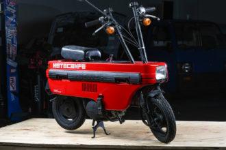 1982 Honda Motocompo Red 2