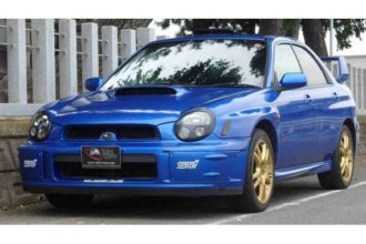 Subaru Impreza WRX STI for sale JDM EXPO (N.8038)