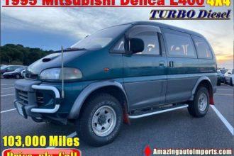 1995 Mitsubishi Delica L400 Exceed Turbo Diesel Van 4X4 103