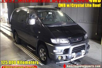 1997 Mitsubishi Delica L400 LWB with Crystal Lite Roof 4WD 125