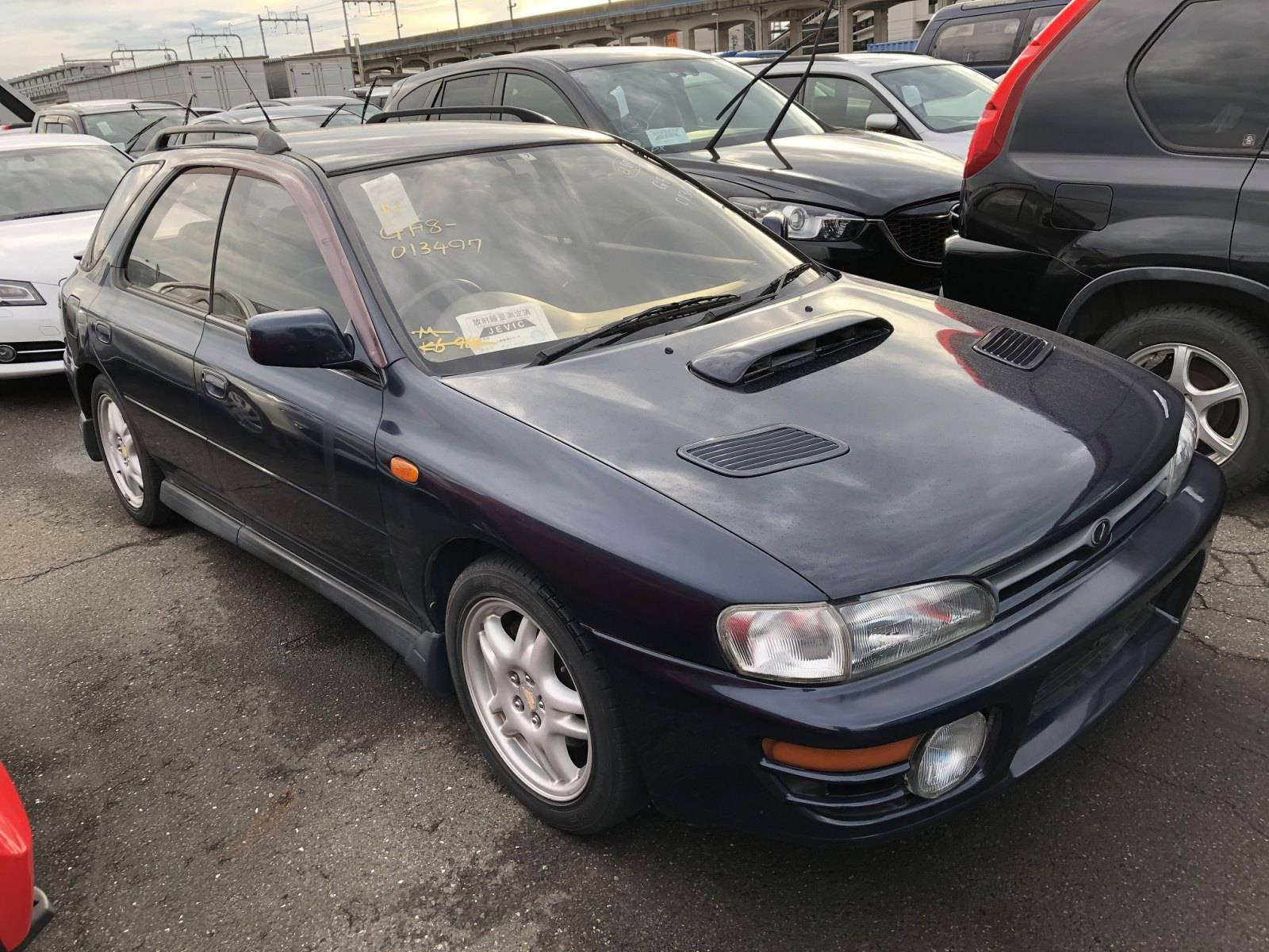 1995 Subaru Impreza Wrx Sport Wagon Arriving Late November Jdmbuysell Com