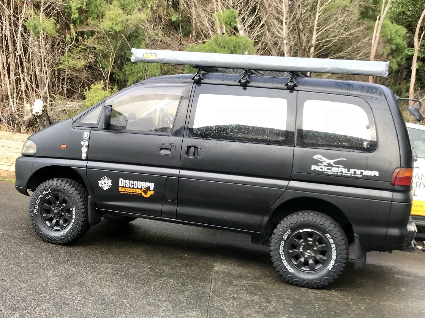 Delica 4x4 | Overland vehicles, 4x4 van, Travel van