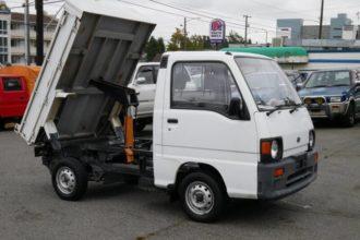 1990 Subaru Sambar Dump Truck