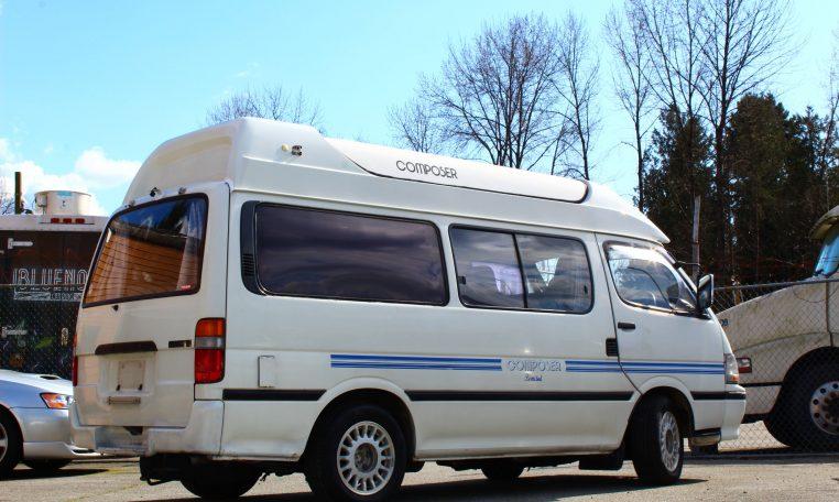 Toyota Hiace Pop-Top Campervan DIESEL | JDM Import Ltd.