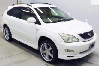 2005 Toyota Harrier 300G L Package 42