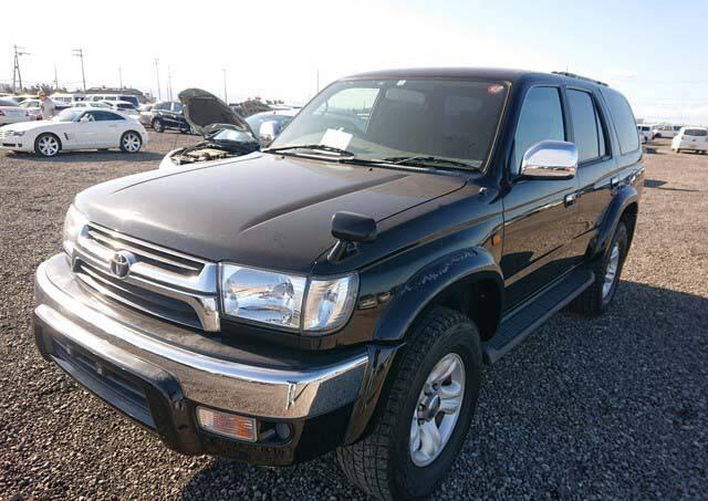 2001 Toyota Hilux Surf SSR-V Black Navigator 205
