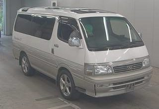 1995 Toyota Hiace Wagon 4 Door SUPER CUSTOM 1KZTE Turbo Diesel TRIPLE SUNROOF 8 seater 2 wheel drive AUCTION GRADE 3