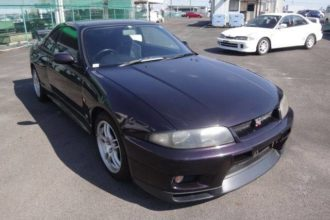1995 Nissan Skyline GTR V-Spec R33 Midnight Purple