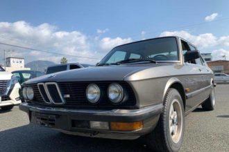 1984 BMW 5 Series Sedan